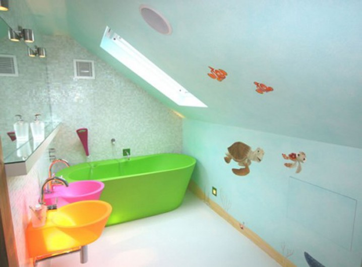 حمامات اطفال مميزة