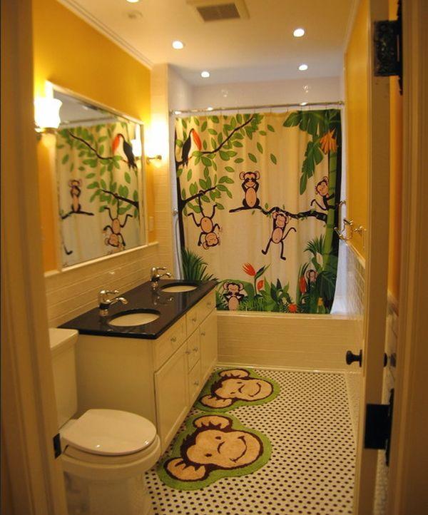 ديكورات حمامات الاطفال