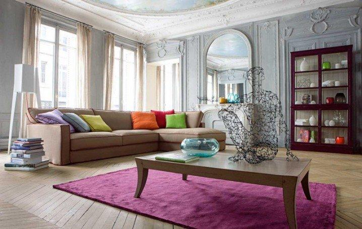 ديكورات غرف معيشة مودرن بالصور