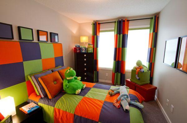 ديكورات غرف نوم اطفال ملونه 1
