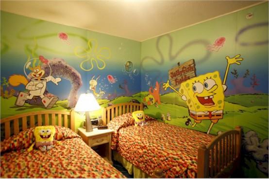 ديكورات غرف نوم اطفال ملونه 13