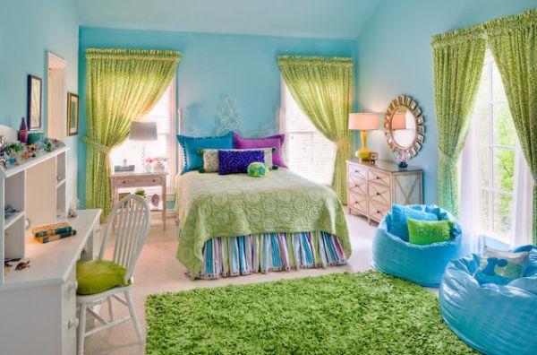 ديكورات غرف نوم اطفال ملونه 15
