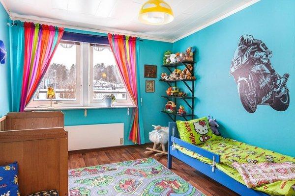 ديكورات غرف نوم اطفال ملونه 4