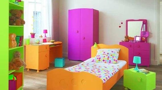 ديكورات غرف نوم اطفال ملونه 5