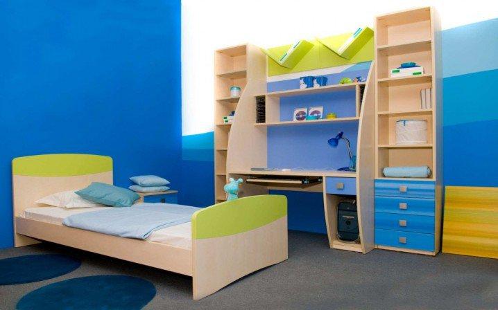ديكورات غرف نوم اطفال ملونه 7