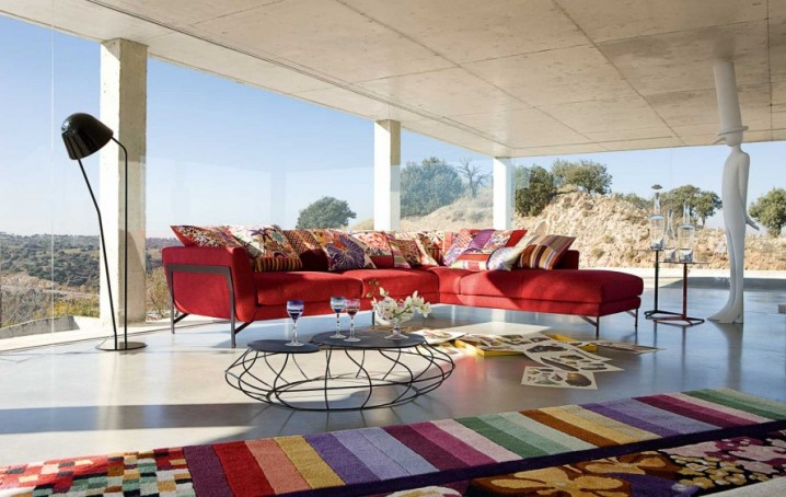 سجاد لغرف الجلوس بالوان مميزة