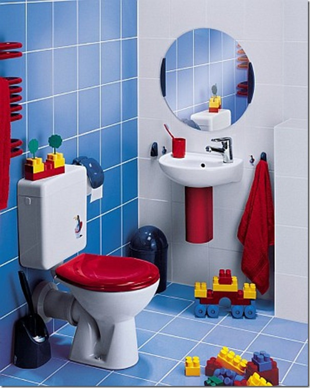سيراميك حمامات الاطفال
