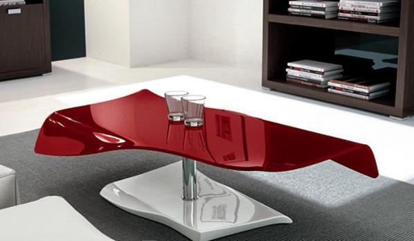 طاولات مبتكرة لغرف الجلوس