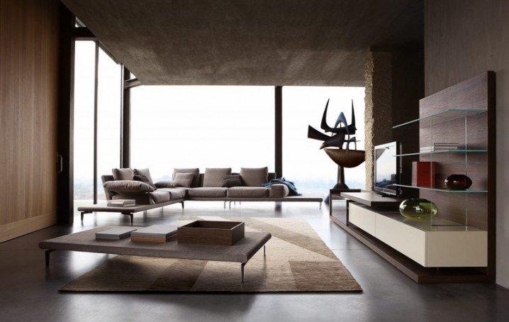 غرف معيشة مودرن باجمل التصاميم بالصور
