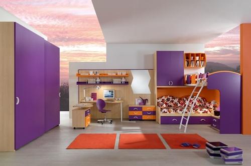 غرف نوم اطفال بسيطة وغير مكلفة 3