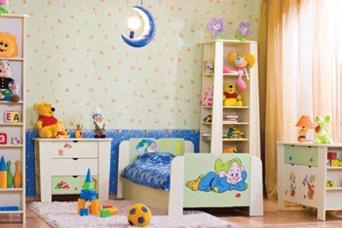 غرف نوم اطفال بسيطة وغير مكلفة 4