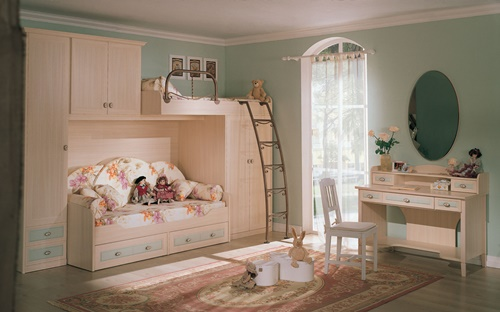 غرف نوم اطفال بسيطة وغير مكلفة 6