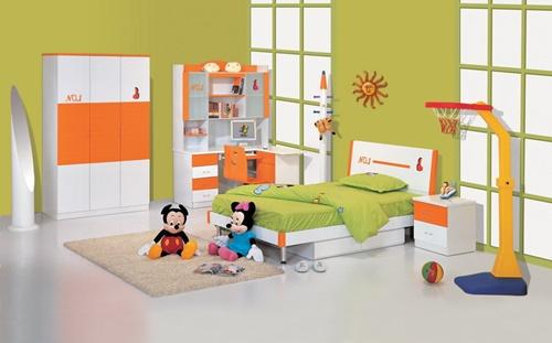 غرف نوم اطفال بسيطة وغير مكلفة