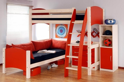 غرف نوم اطفال دورين 2
