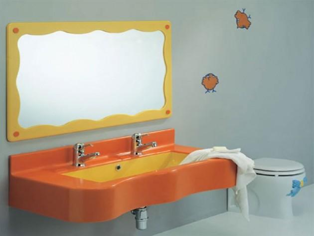 مرايات حمامات الاطفال