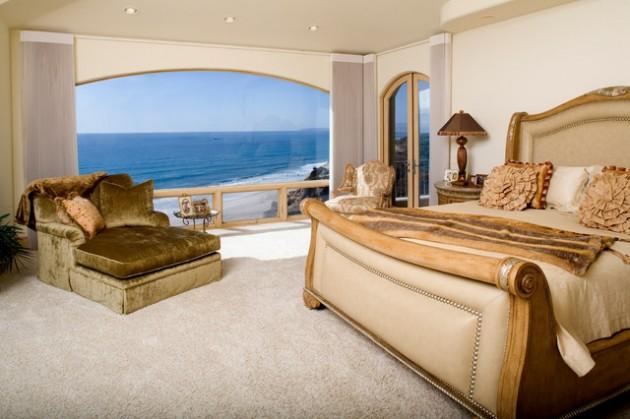 اطلالات غرف النوم على البحر