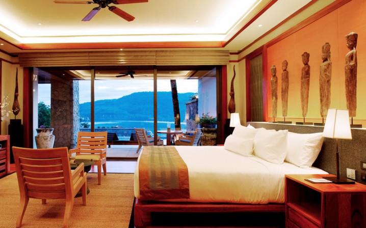 ديكورات غرف نوم مع إطلالة رائعة