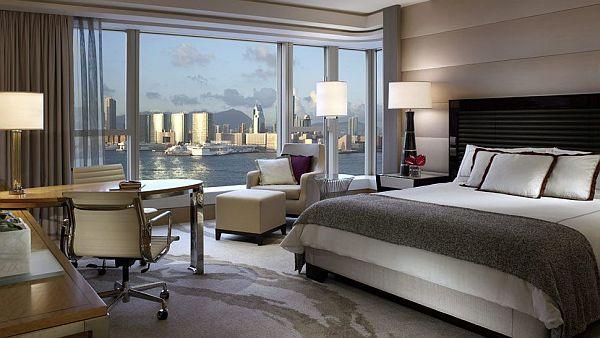 تصميم غرفة نوم مع إطلالة