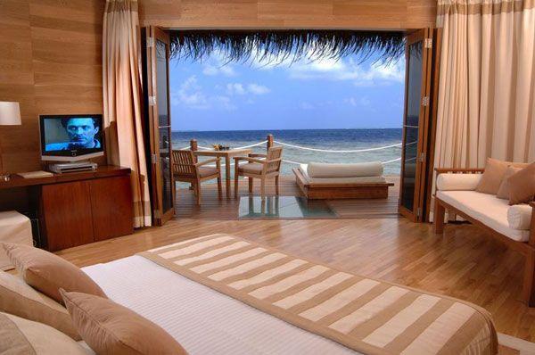 اجمل اطلالات غرف النوم مع إطلالات