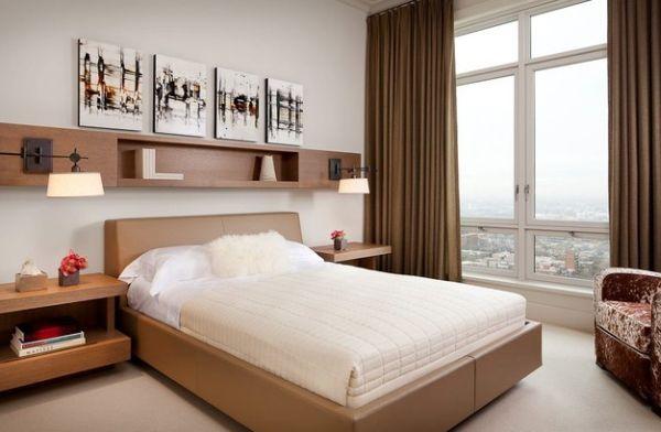 تصاميم غرف نوم صغيرة المساحة 10