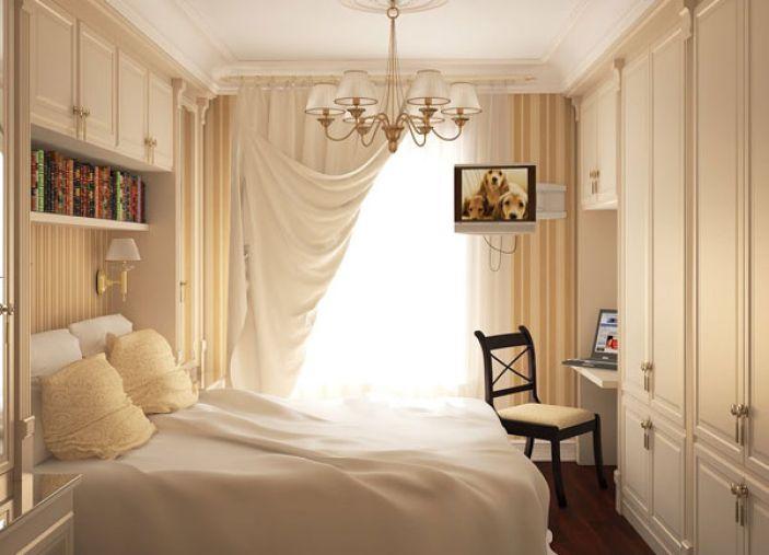تصاميم-غرف-نوم-صغيرة-المساحة-4