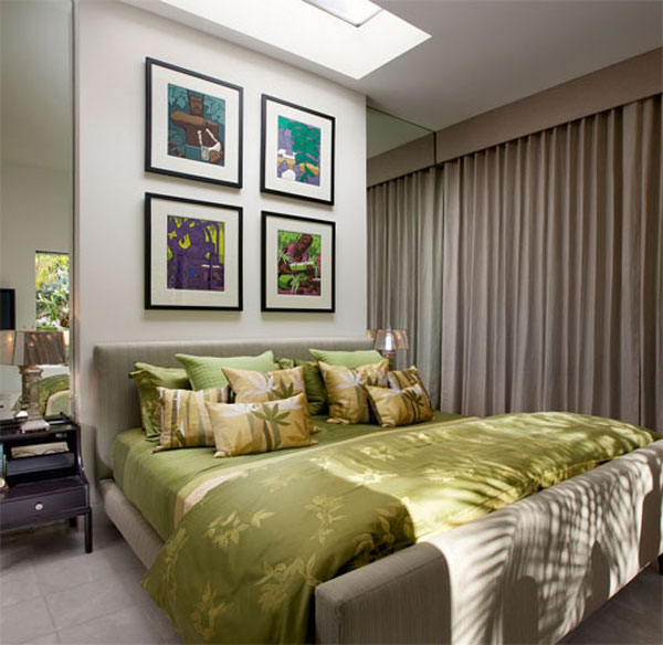تصاميم غرف نوم صغيرة المساحة 5
