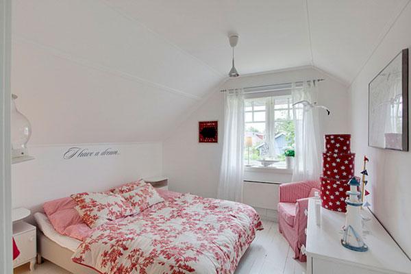 تصاميم غرف نوم صغيرة المساحة 7