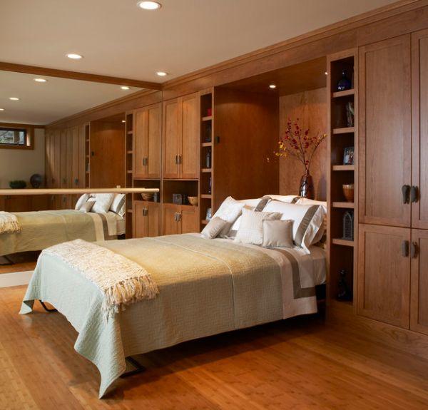 تصاميم غرف نوم صغيرة المساحة 9