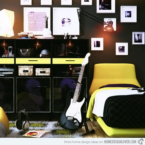 تصاميم لغرف نوم شباب مودرن