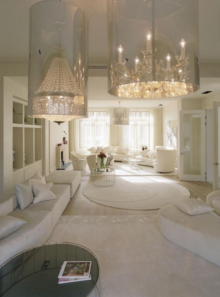 تصاميم ثريات غرف جلوس ستبهرك بجمالها   عرب ديكور