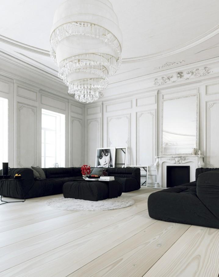 ثريات ضخمة وجميلة لغرف جلوس