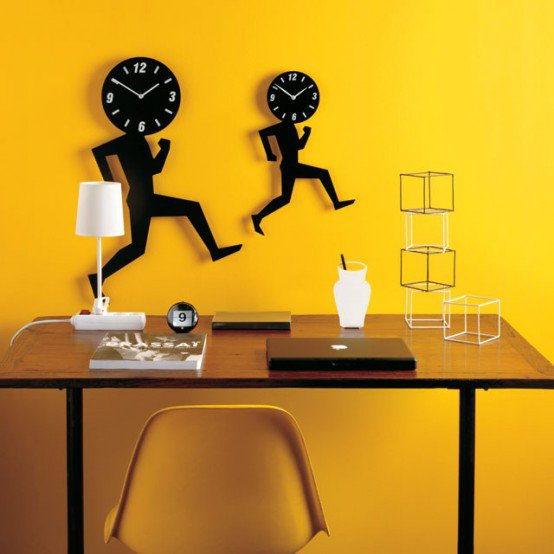 ساعات حائط فخمة مبتكرة