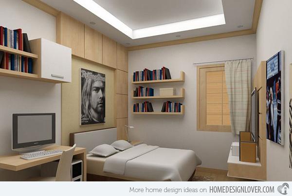 غرف نوم شباب حديثة