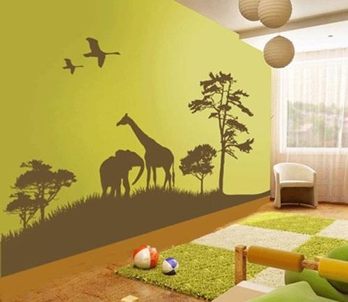 ملصقات الحائط لغرف الأطفال