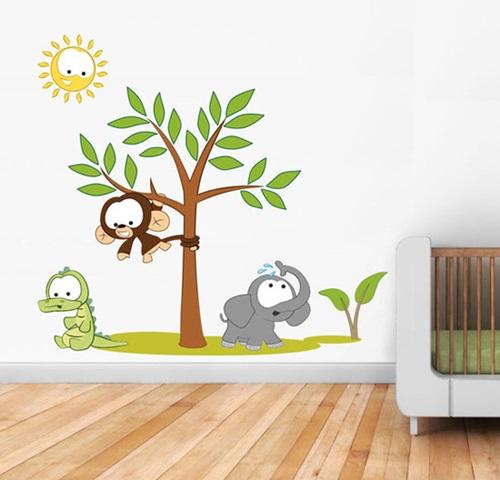 رسومات جميلة لملصقات حائط لغرفة طفلك