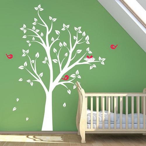 ملصقات حائط حديثة لغرف الأطفال