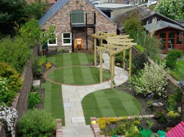 أفكار حدائق منزلية صغيرة
