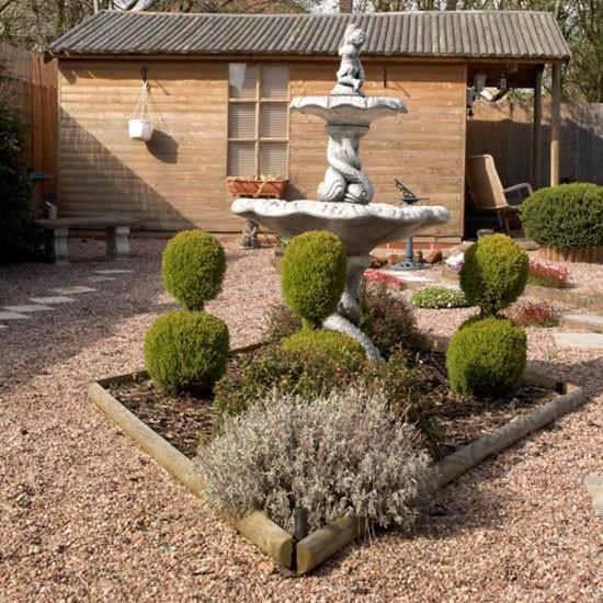 أجمل ديكورات الحدائق المنزلية الصغيرة