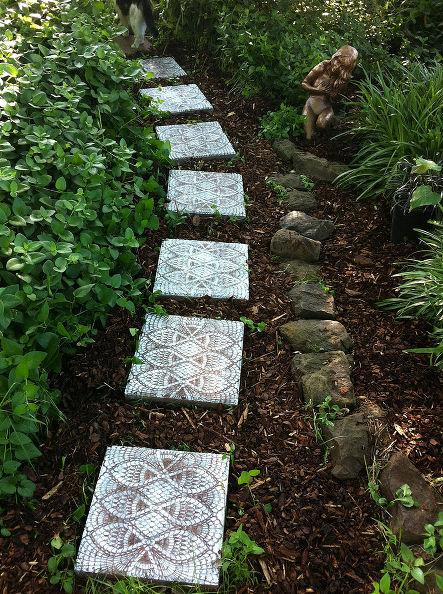 أفكار ممرات الحدائق