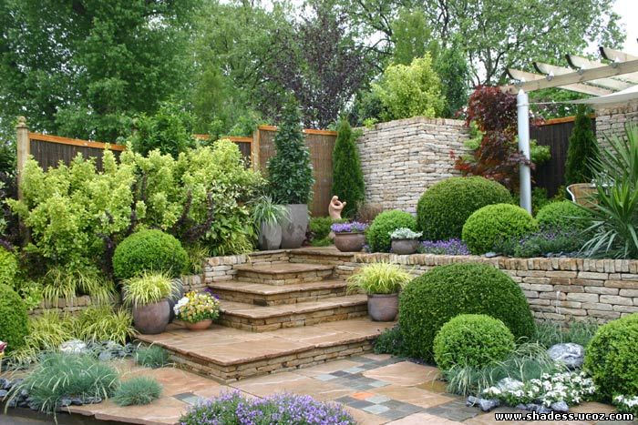 ديكورات حدائق منزلية صغيرة