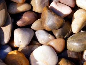 تنسيق الصخور الصغيرة في الحدائق المنزلية