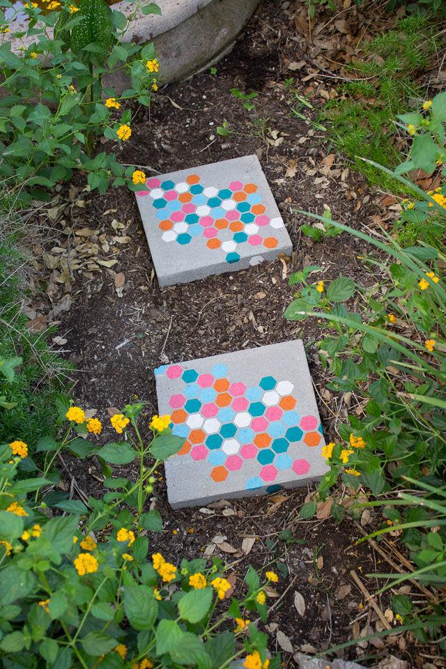 أفكار ممرات حدائق منزلية خلفية