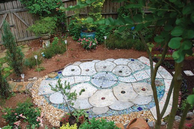أفكار ممرات الحدائق المنزلية