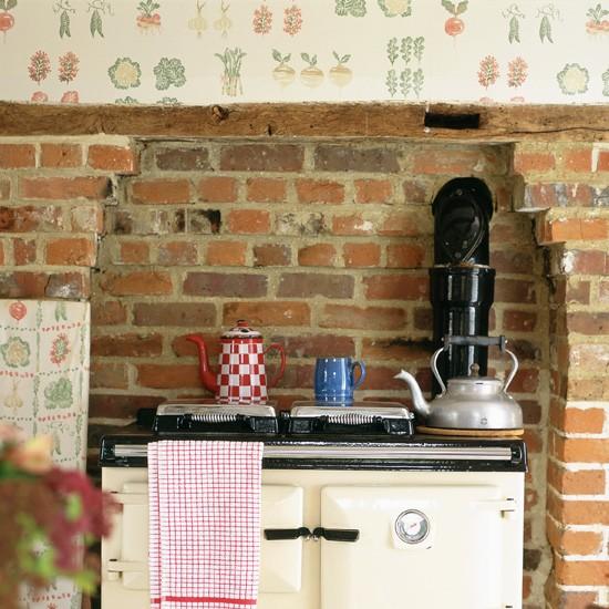 أفكار ورق جدران للمطابخ