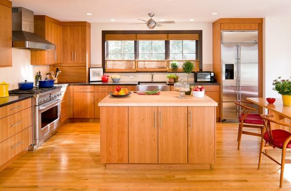 اجمل اشكال المطابخ الخشبية