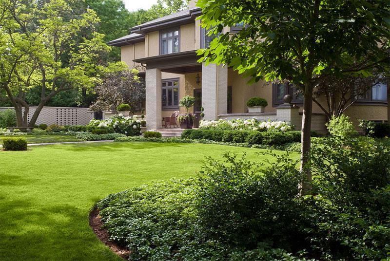 اجمل تصميم حدائق منزلية