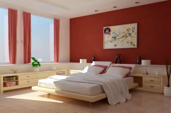 احدث الوان غرف النوم باللون اليج