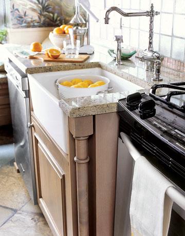 استخدام الجرانيت في المطابخ