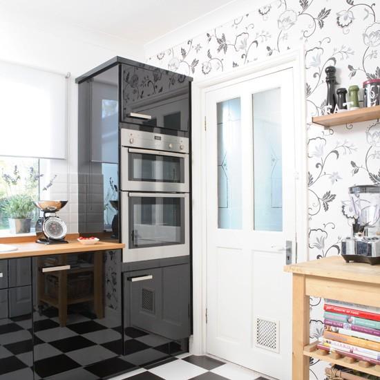 اشكال حديثة لورق حائط المطبخ 1