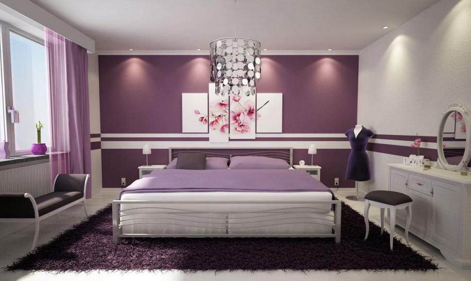 افكار حوائط غرف نوم